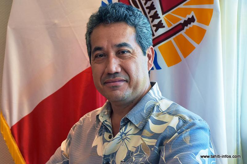 Marcel Tuihani conduit la liste Te Ora Api o Porinetia, candidate au scrutin du 22 avril pour le renouvellement des représentants de l'assemblée.