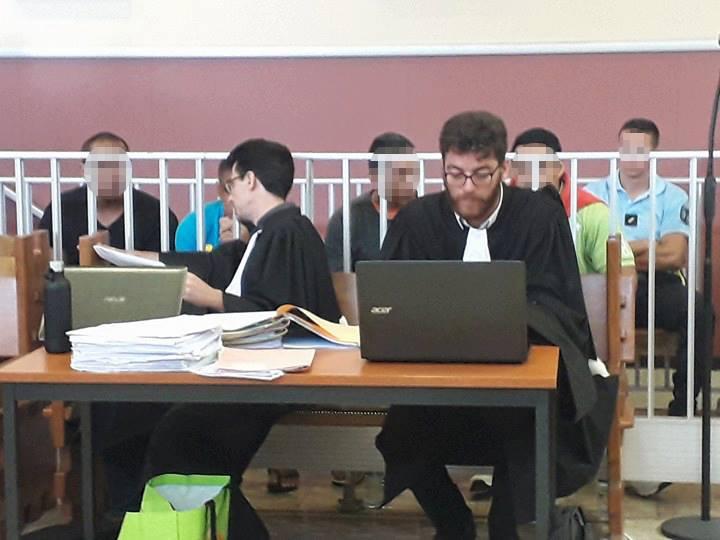 Rixe de Papara: les prévenus condamnés à des peines comprises entre 8 mois avec sursis et 3 ans de prison ferme