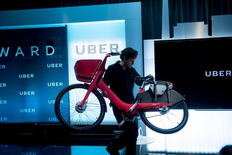 Vélos partagés, bus, trains: Uber accélère sa diversification