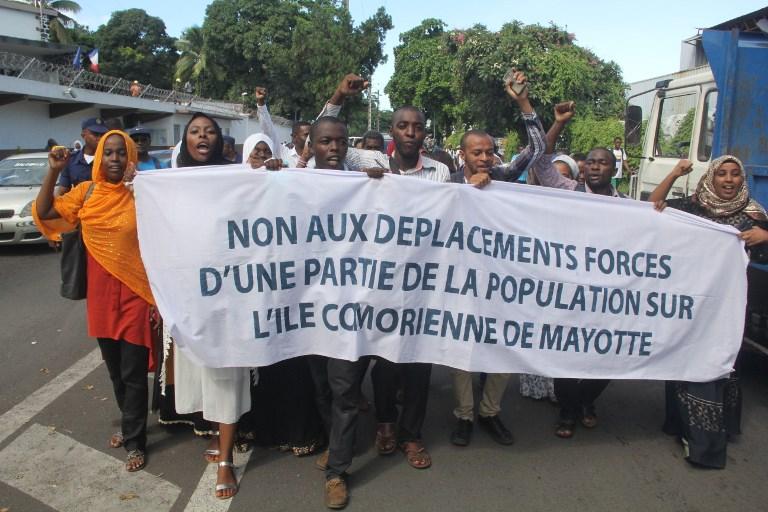 A Mayotte, la manifestation a peu mobilisé, retour progressif à la normal