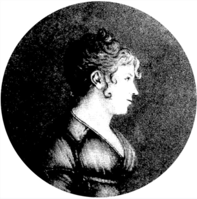 Ce portrait de Rose de Freycinet fait ressortir la beauté et l'élégance de cette intrépide jeune femme.