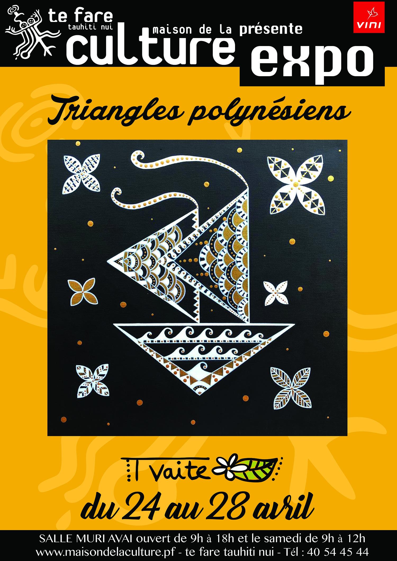 Tvaite revient avec une nouvelle série de toiles sur le triangle polynésien