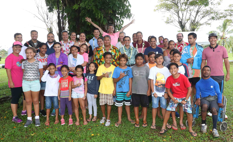 Les enfants de Papara et Teva i Uta initiés au golf