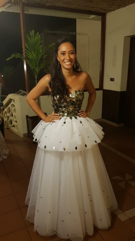 Manuarii Teauroa, gagnant du concours de styliste haute couture