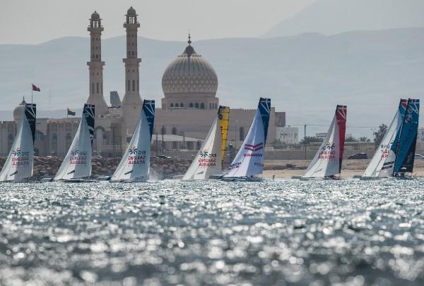 Une première étape  à Oman