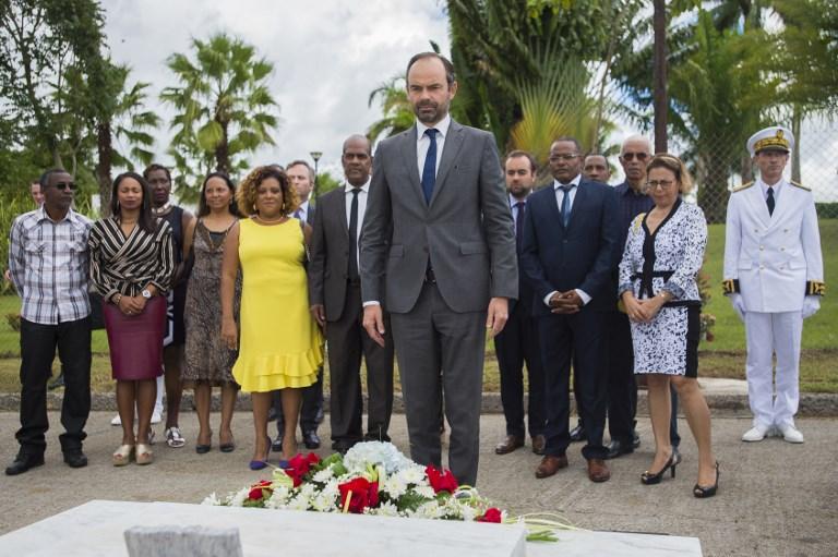 Philippe et Girardin saluent la mémoire d'Aimé Césaire, disparu il y a 10 ans