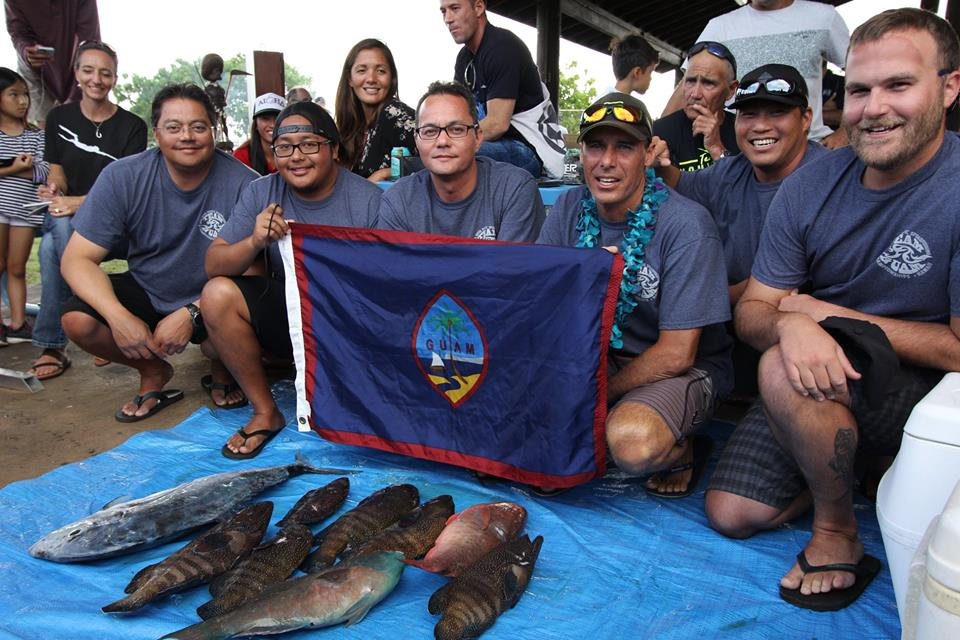 Les Guaméens ont étonné de par la qualité de leur pêche durant les deux journées