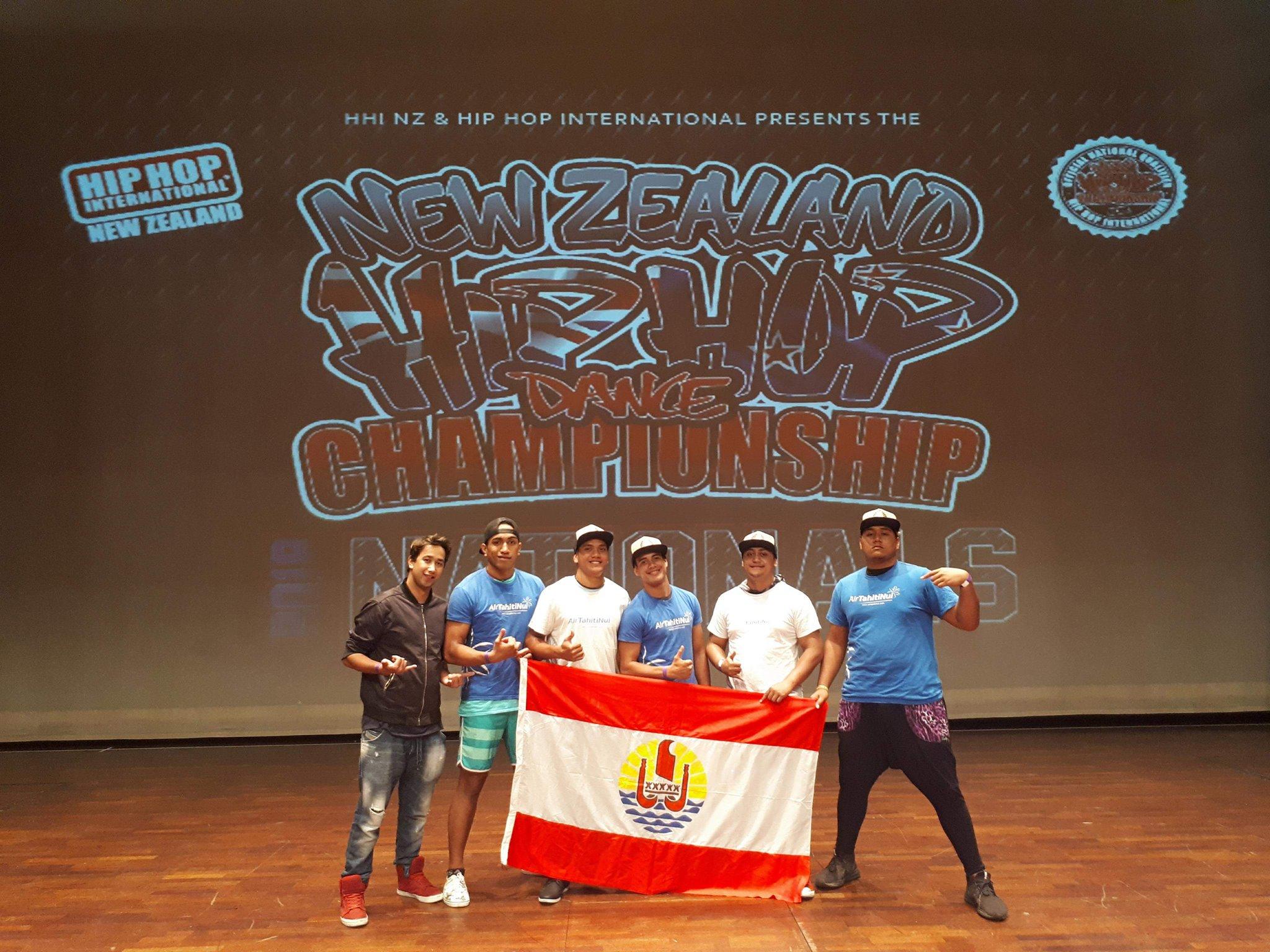 Les All in One représentent le fenua pour le concours Pacific Islands qui se tient actuellement en Nouvelle-Zélande.