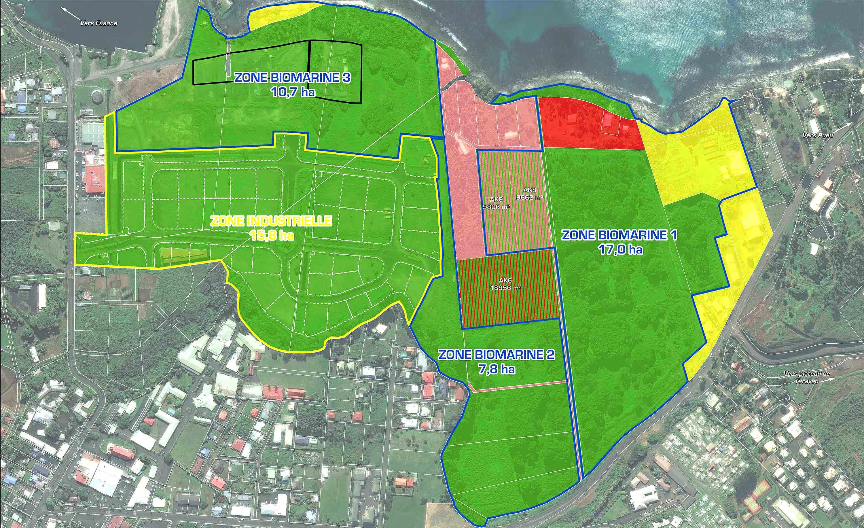 La gestion des structures communes de la zone biomarine sera confiée à une structure privée