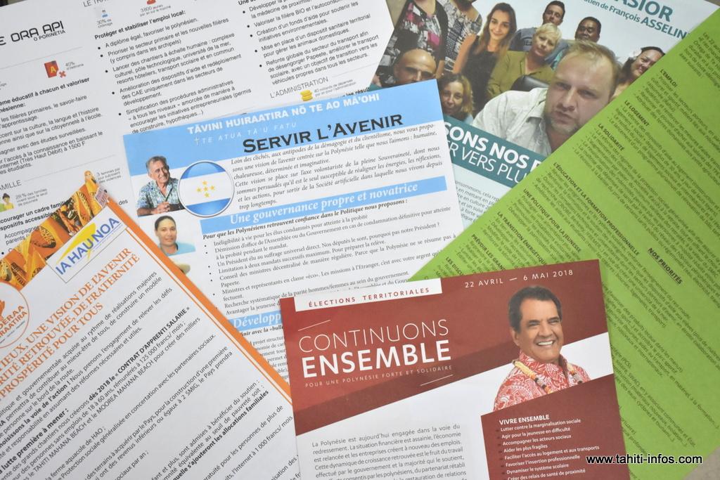Elections territoriales : comparaison de tous les programmes