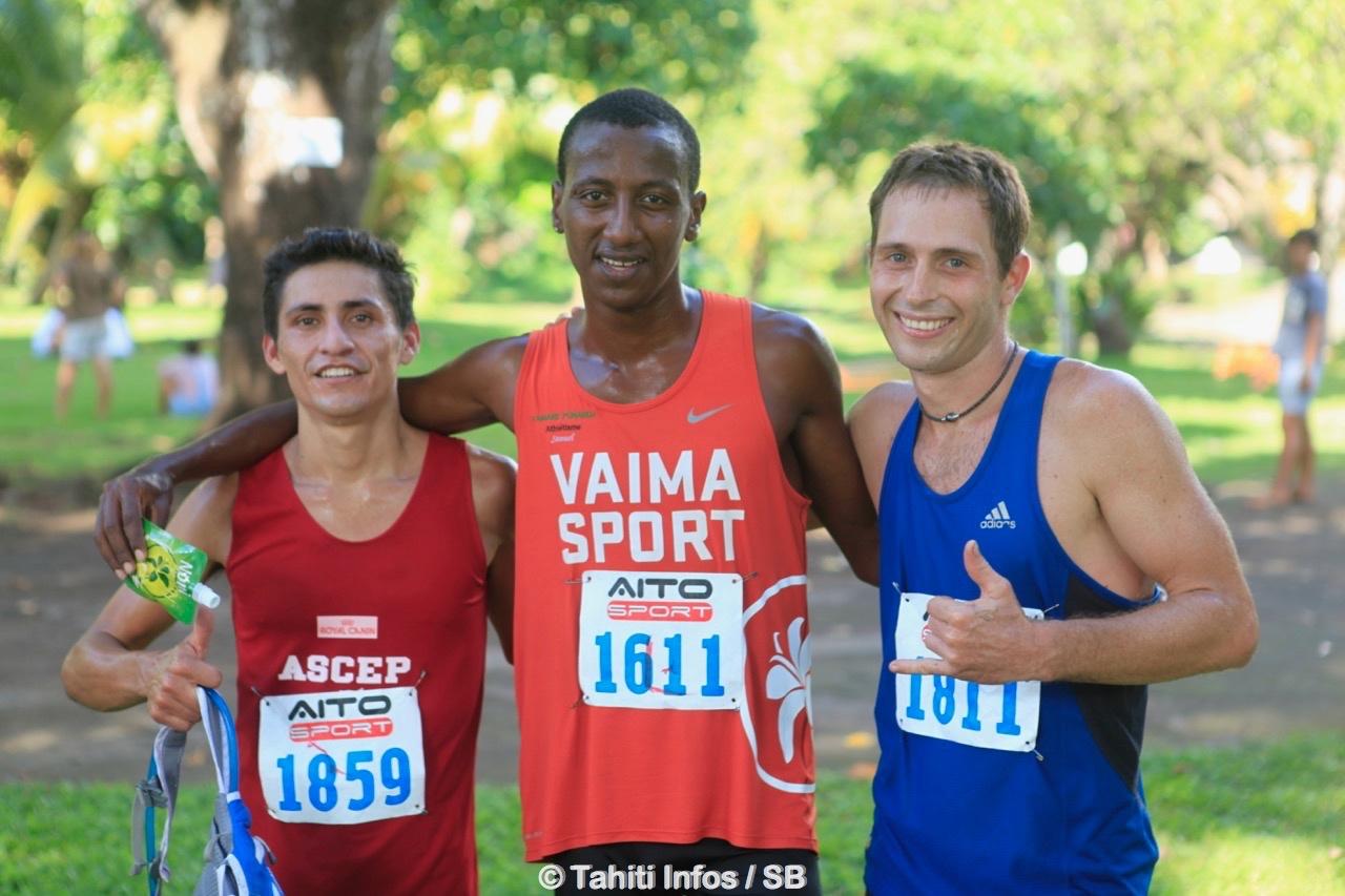 Delbi Villa-Gongora, Samuel Aragaw et Justin Monier