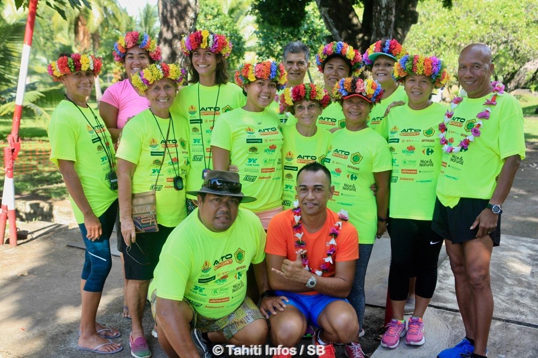 Le trail a été organisé par l'as Tefana sous l'égide de la fédération d'athlétisme de Polynésie française