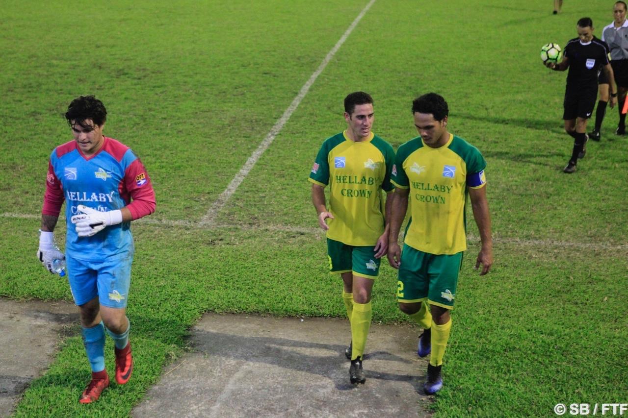 Alvin Tehau a su mener ses joueurs à la victoire