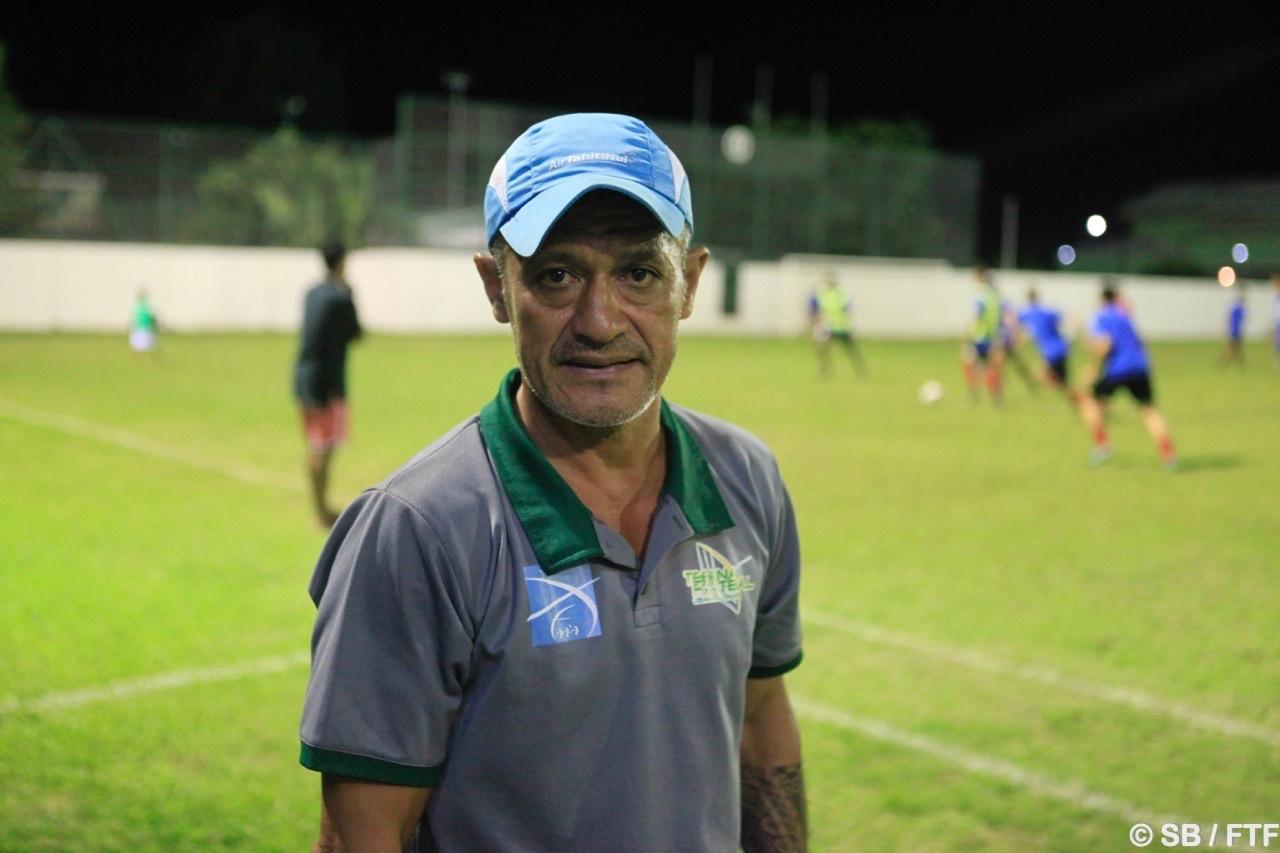Pascal Vahirua, coach de Tefana