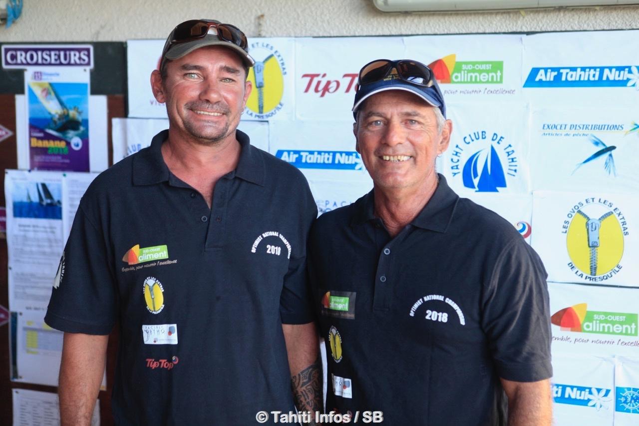 Manu Rousseau et Didier Arnould, les deux coachs