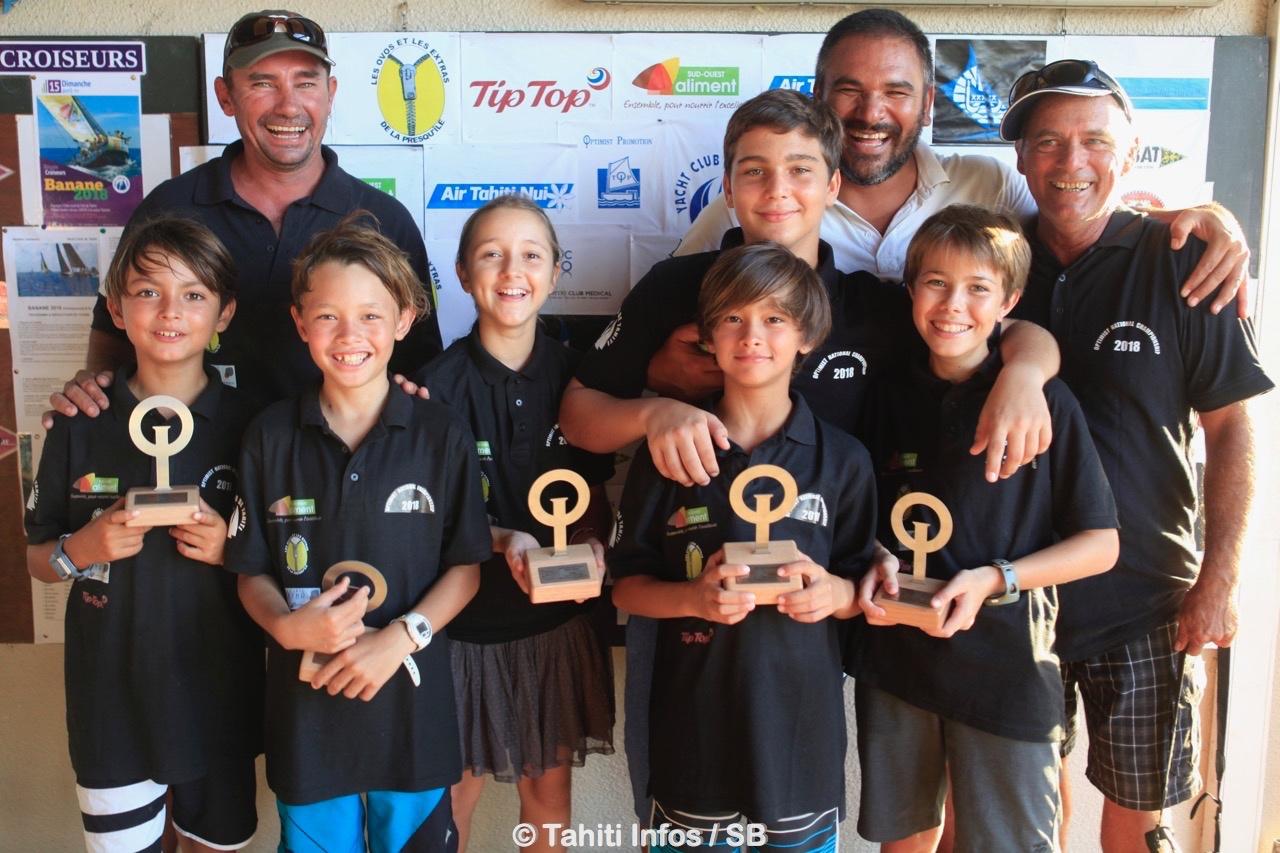 Le team Tahiti s'est réuni samedi au Yacht Club d'Arue Arue