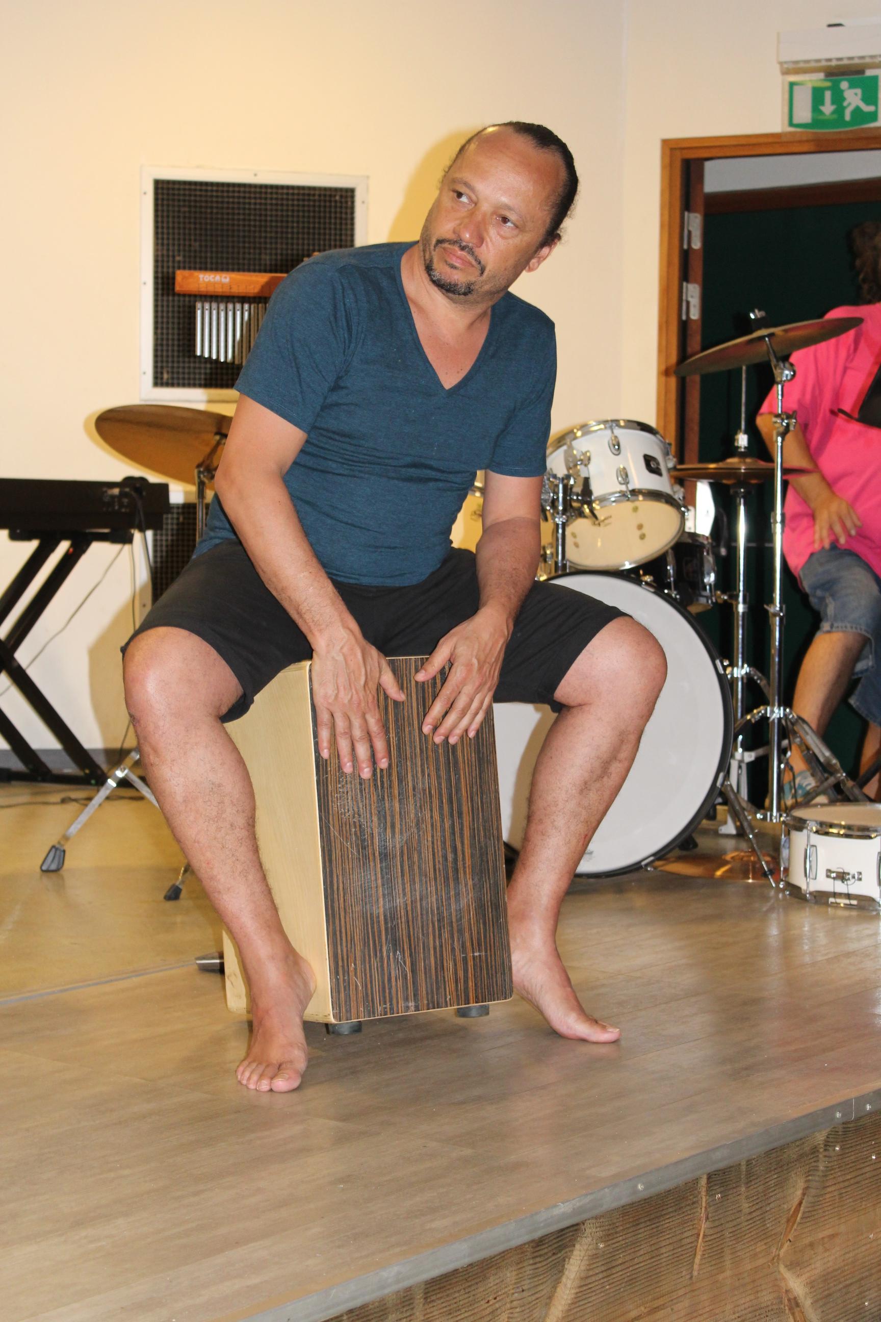 David Donatien, avec qui Yael Naim collabore depuis près de 15 ans maintenant.