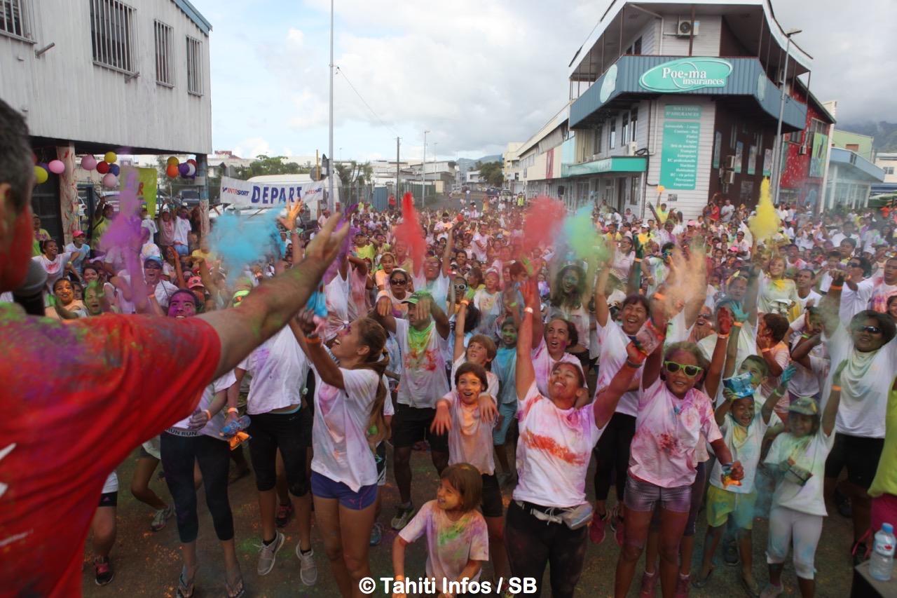 La 1ère édition de la Taiarapu Rainbow Color se fera le 19 mai à Taravao (photo d'illustration).