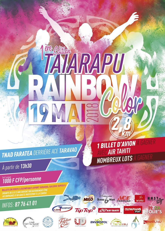 Une course colorée à Taravao le 19 mai