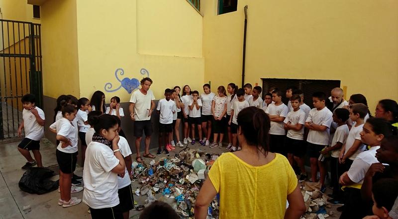 Les résultats d'une collecte avec les enfants de Las Palmas, aux îles Canaries
