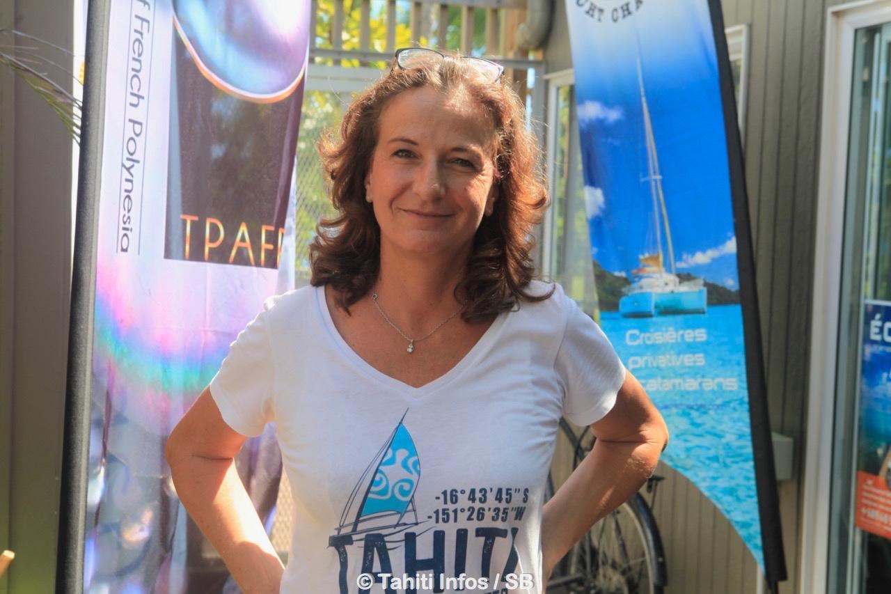 Stéphanie Betz a décrit l'évènement avec enthousiasme
