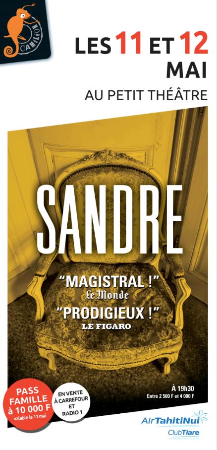 La pièce de théâtre Sandre s'invite en prison