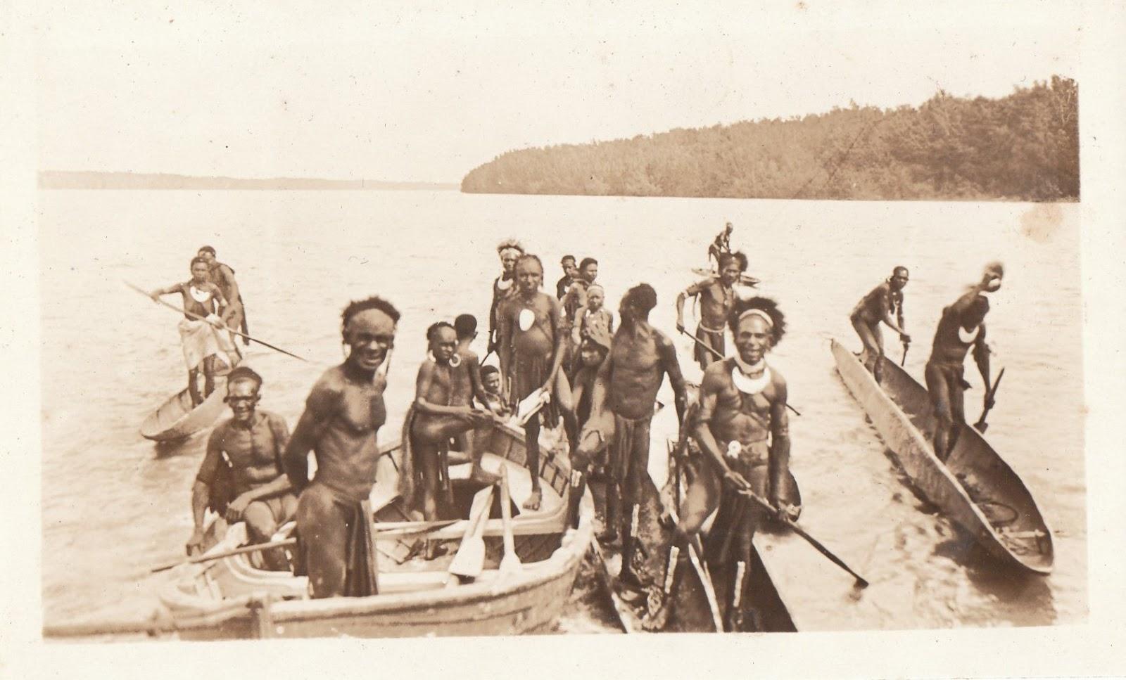 Les guerriers de Goaribari étaient réputés belliqueux et surtout cannibales, ce que confirma la malheureuse expérience de Chalmers.