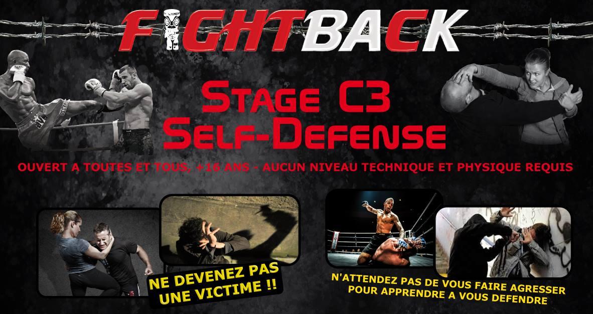 Autodéfense : des stages d'initiation au C3 pour affûter ses techniques