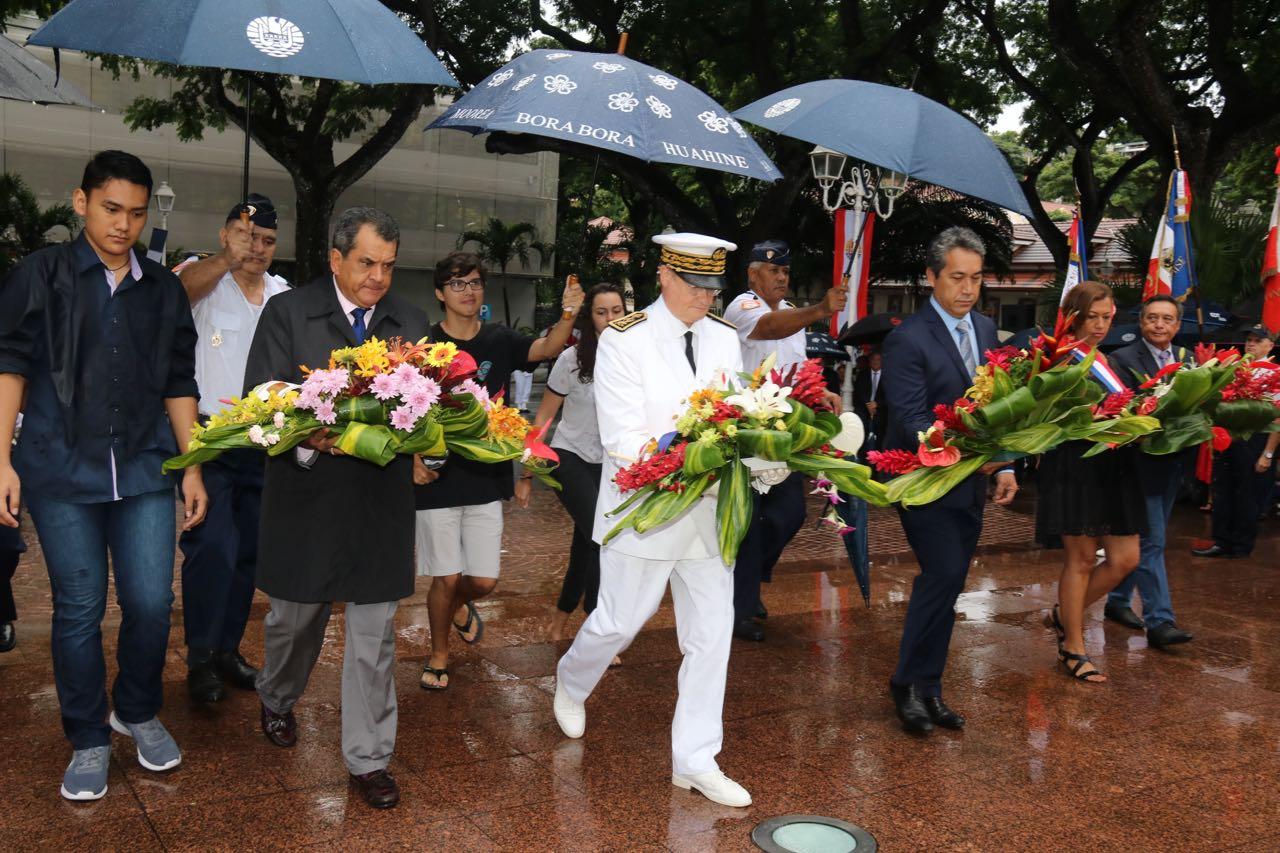Commémoration du 73ème anniversaire de la Victoire du 8 mai 1945