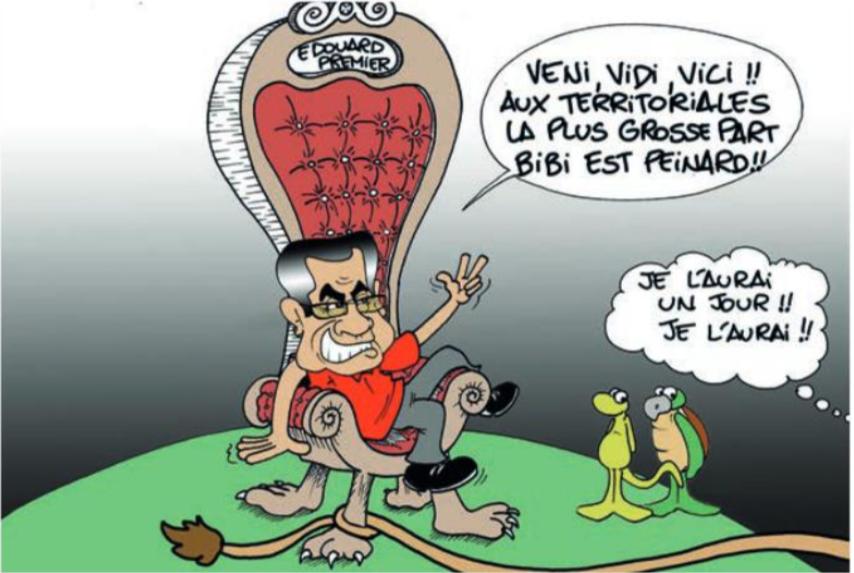 """ La majorité Tapura "" par Munoz"