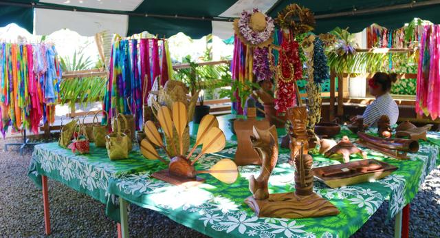 L'exposition se tiendra au fare artisanal de Maraa.