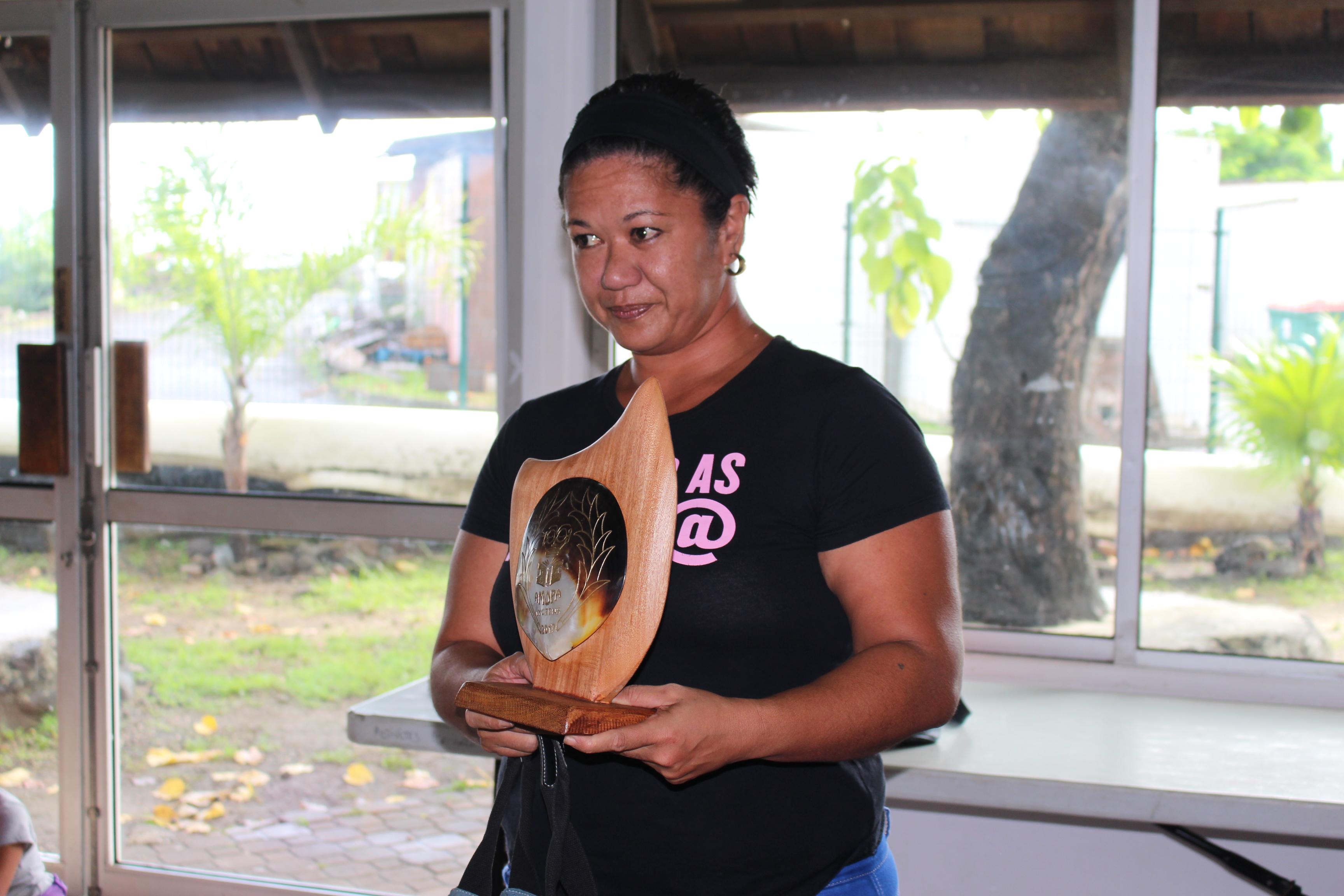 Titaua Peu et Patrick Chastel mis à l'honneur par les jeunes lecteurs