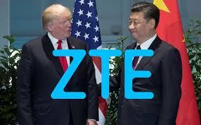 Trump nie avoir fait machine arrière dans l'affaire ZTE