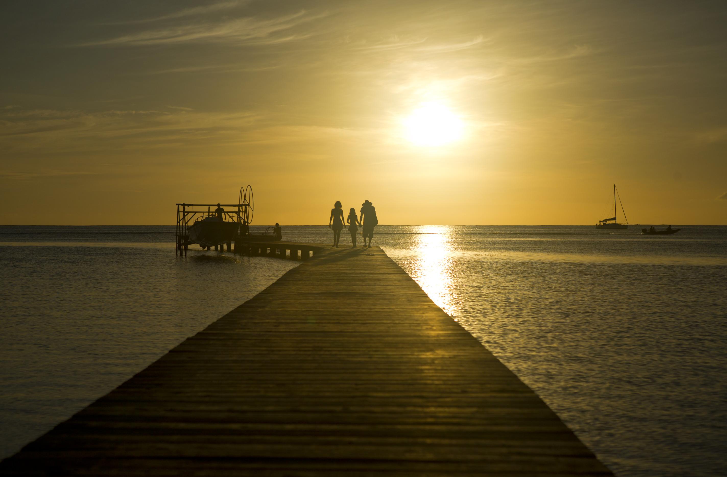 En incluant les 55 399 excursionnistes, l'effectif des visiteurs s'établit à 254 358 en 2017, en progression de +5,4%. (Photo : Tahiti Tourisme).