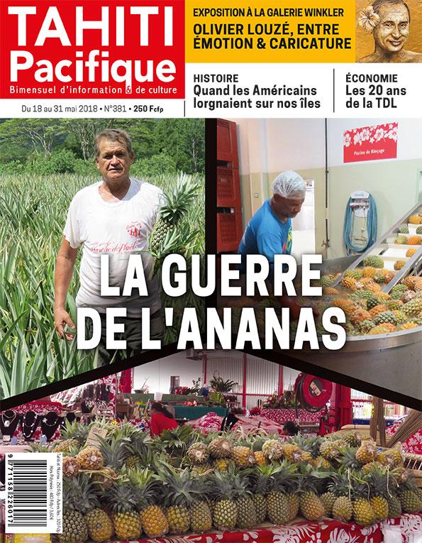 À la Une de Tahiti Pacifique, vendredi 18 mai