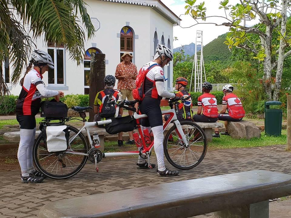 Moorea : une croisière à vélo pour les touristes