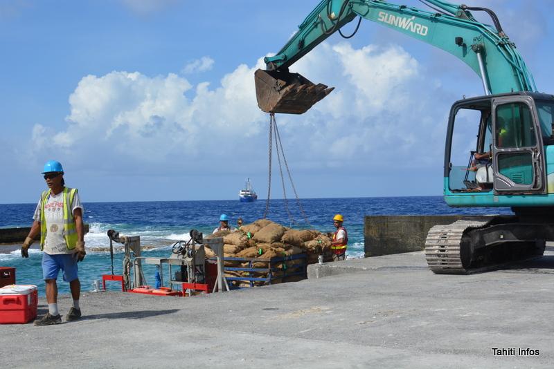 Le revenu médian des Tuamotu-Gambier est inférieur d'un tiers à celui de l'ensemble de la Polynésie française.