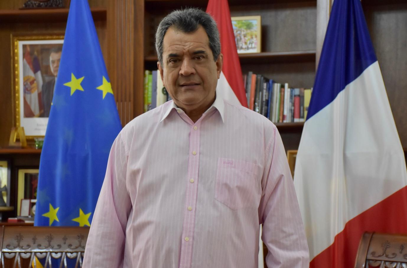 "Edouard Fritch : ""Je ne veux pas gouverner seul"""