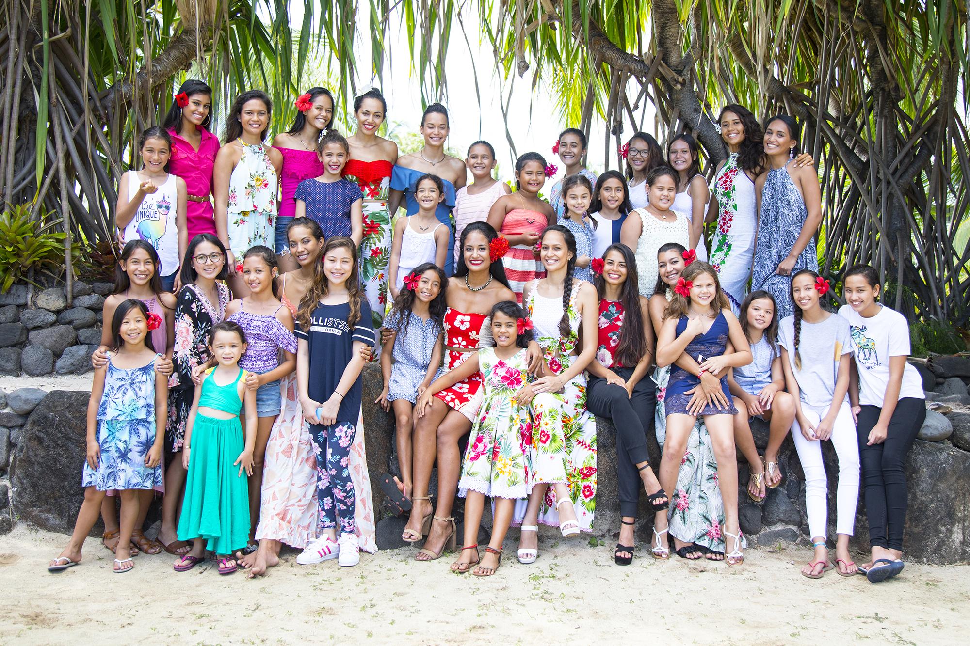 Miss Tahiti 2018 : un moment inoubliable avec les candidates