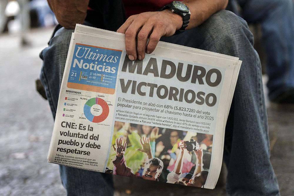Nouvelles sanctions américaines après la réélection de Maduro