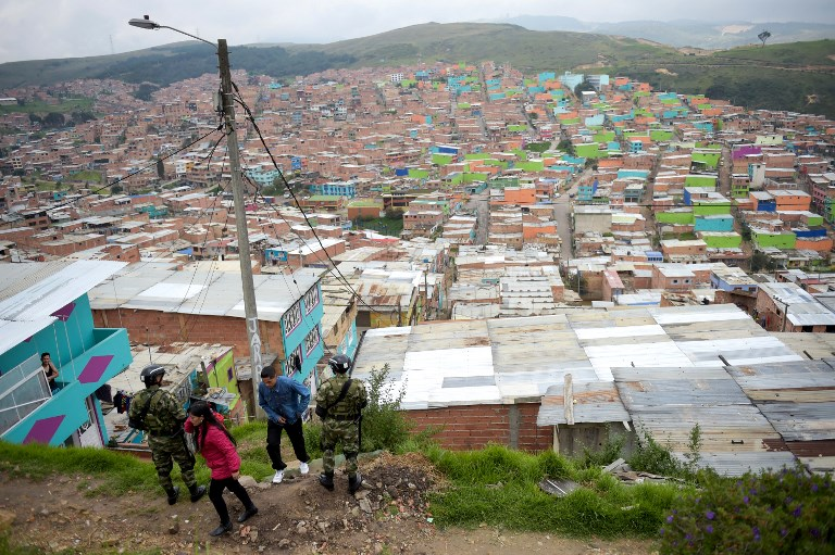 Colombie: 25.000 personnes déplacées autour d'un barrage en construction