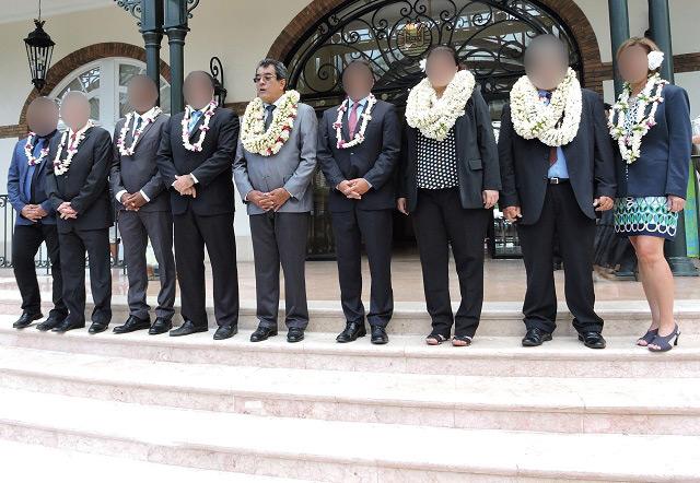 Qui seront les ministres du nouveau gouvernement Fritch?