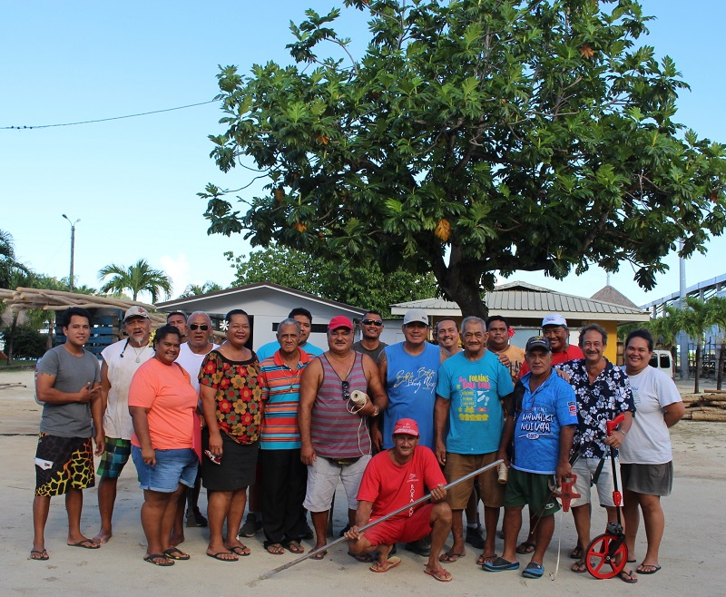 Les forains s'installent pour le Heiva i Bora Bora
