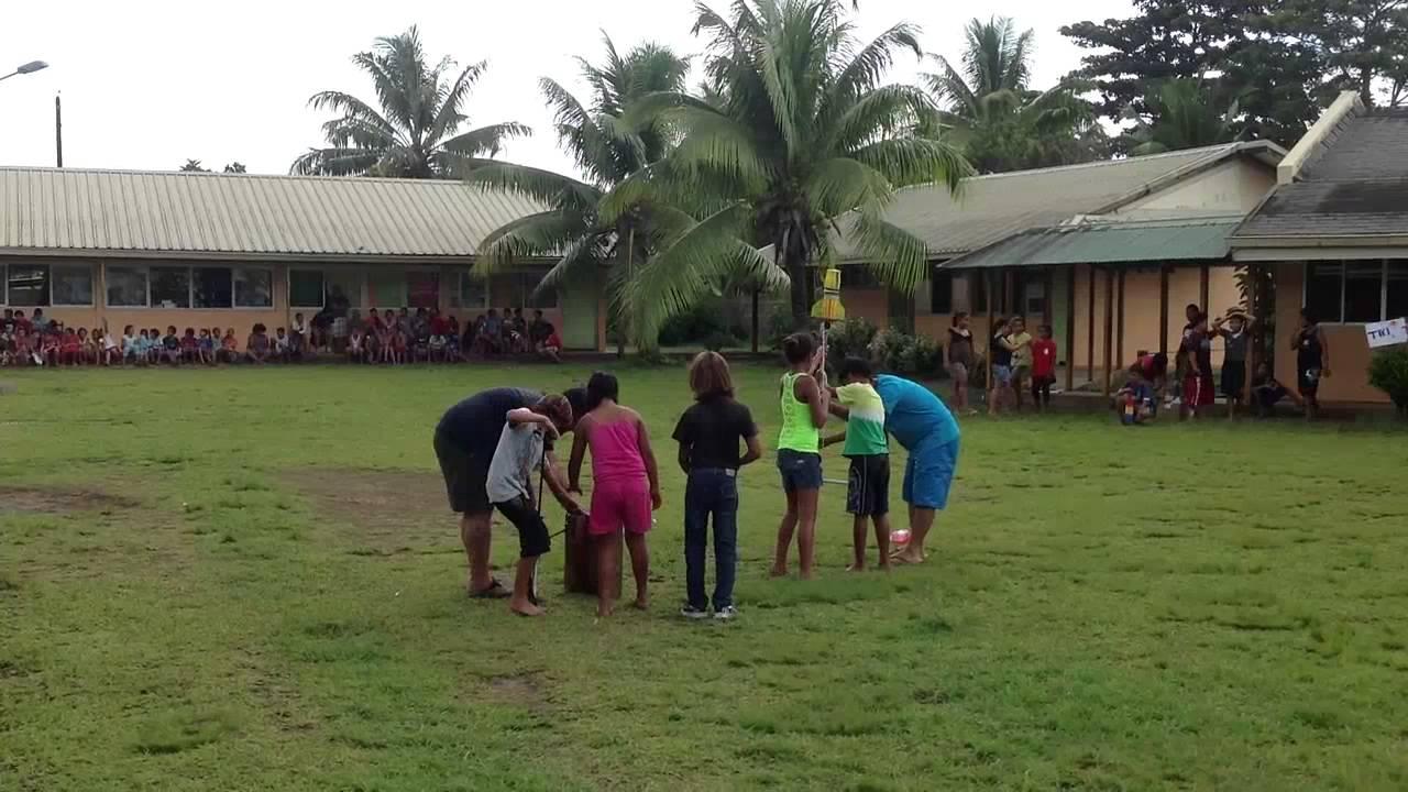 Prochaine étape, la reconstruction de la future école élémentaire de Matairea.