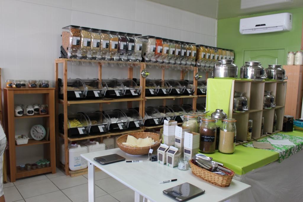 Eco Vrac, l'épicerie de produits vendus en vrac vient d'ouvrir