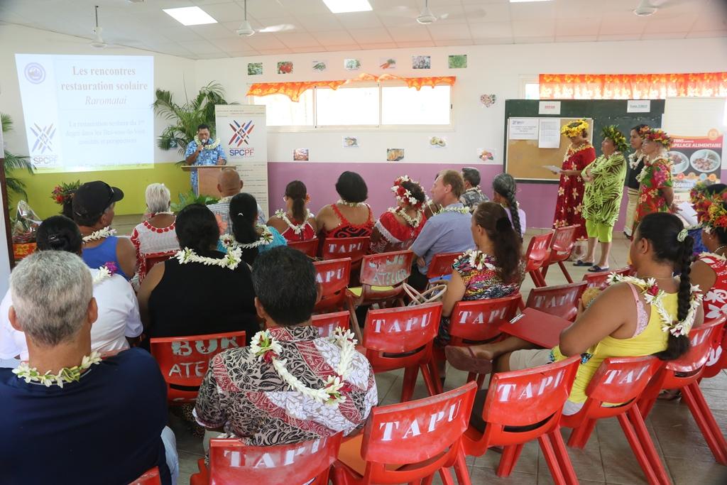Plus de 40 participants de Raiatea, Tahaa et Maupiti participent à ce séminaire qui fermera ses portes vendredi à midi.