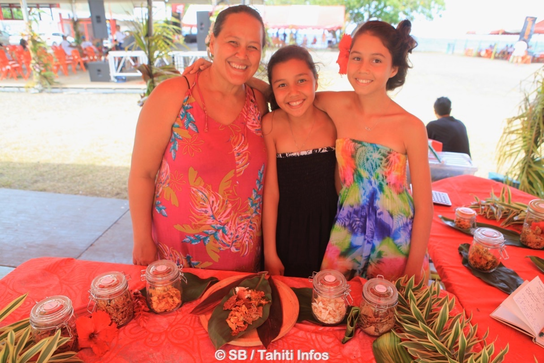 Sandra Gaub et ses enfants