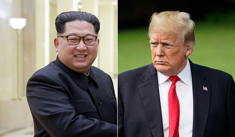"""Trump salue """"le brillant potentiel"""" de la Corée du Nord, le sommet en vue"""