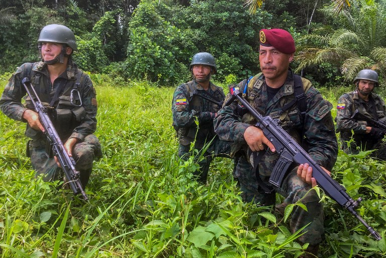 Colombie: 11 dissidents de la guérilla des Farc tués dans une opération militaire
