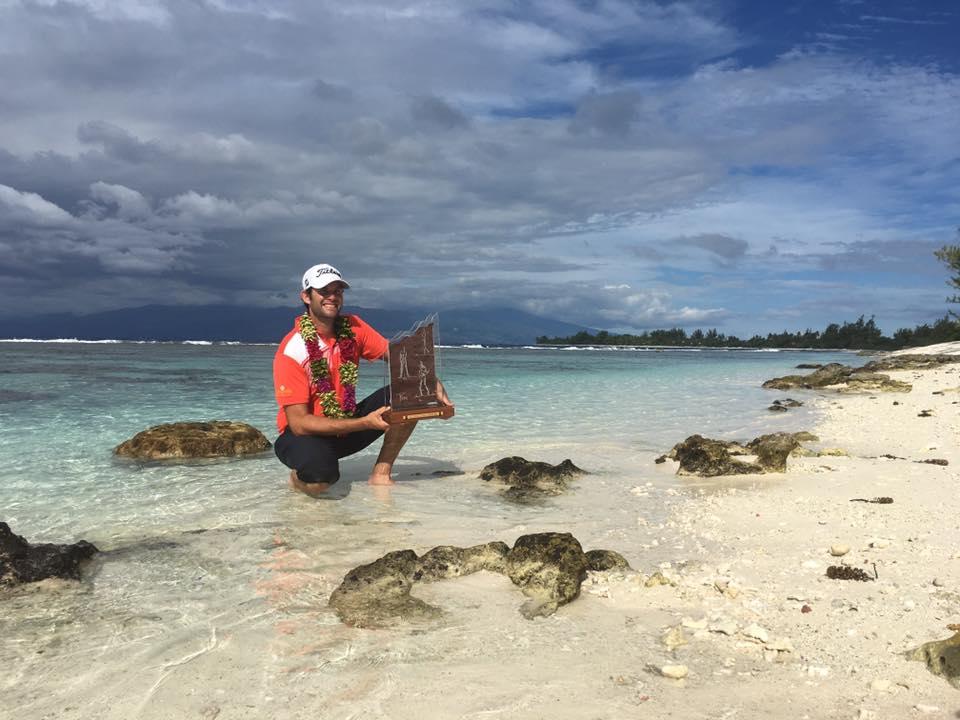 L'Australien Tim Stewart a remporté le Tahiti Golf Open 2018
